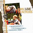 Boys Love Tractors