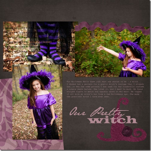 our pretty witch