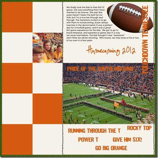 Touchdown Tennessee